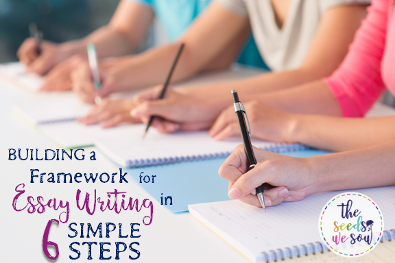 Building a Framework for Essay Writing